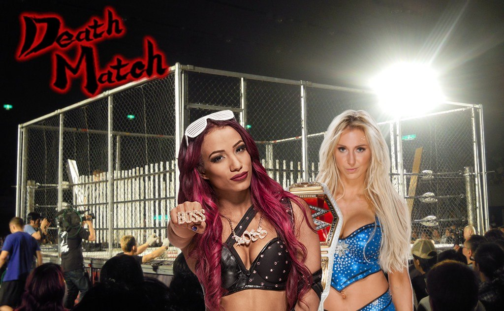 Sasha And Charlotte To Square Off In No Rope Barbed Wire