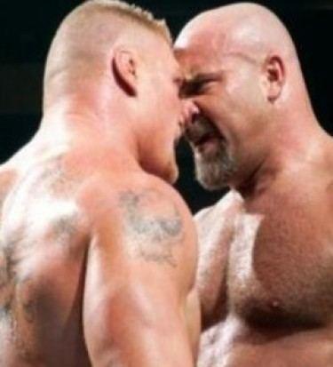 Goldberg lesnar rematch