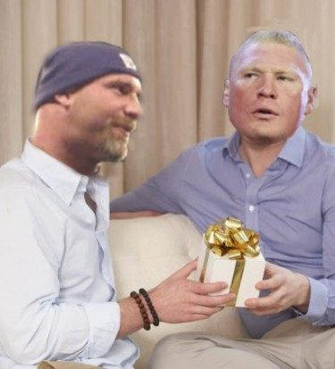 Lesnar goldberg