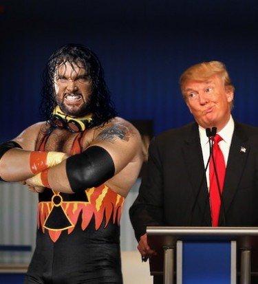 Donald trumb bomb