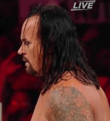 Undertaker reigns yard