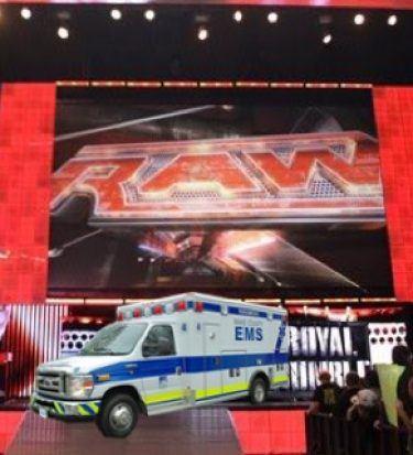 Strowman ambulance