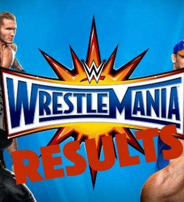 wrestlemania results