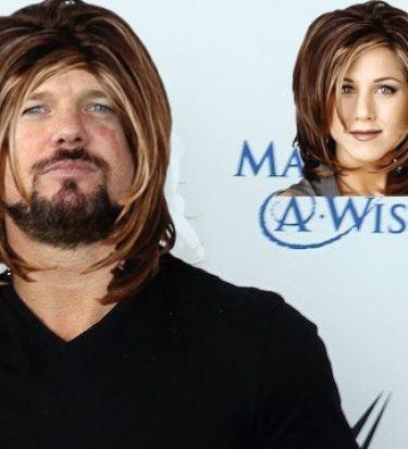 AJ Styles haircut