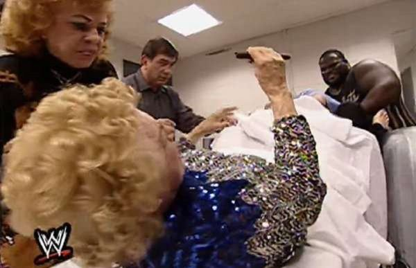 mae young hand