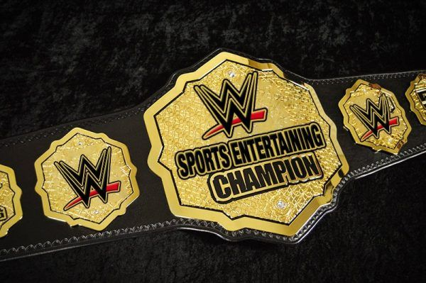 new wwe belt