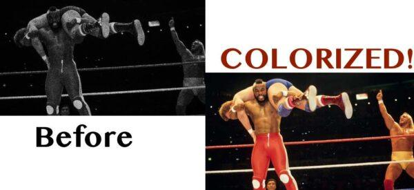 colorized wwe