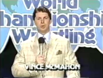 Vince McMahon Black