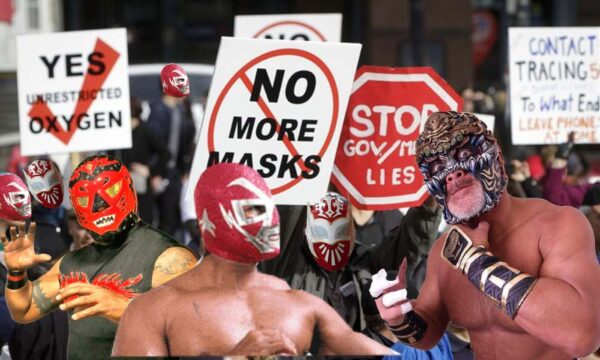 mask protest